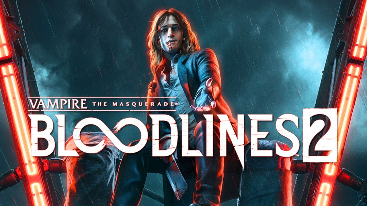 Bloodlines 2 logo jeu fond article