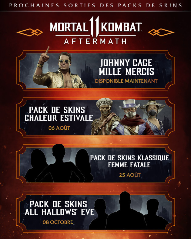 MK 11 aftermath pack estival 2