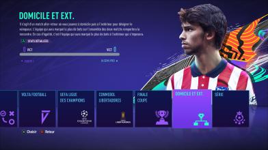 FIFA 21 Coup d'envoi (dans les menus)