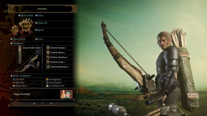 Guild Cards_Poses_Skilled Hunter