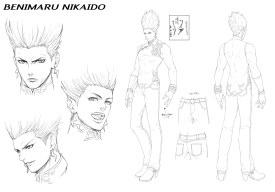 Character Design_BENIMARU NIKAIDO