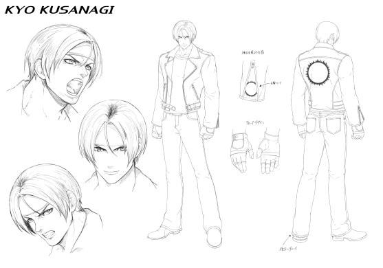 Character Design_KYO KUSANAGI