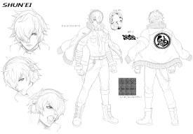 Character Design_SHUN'EI