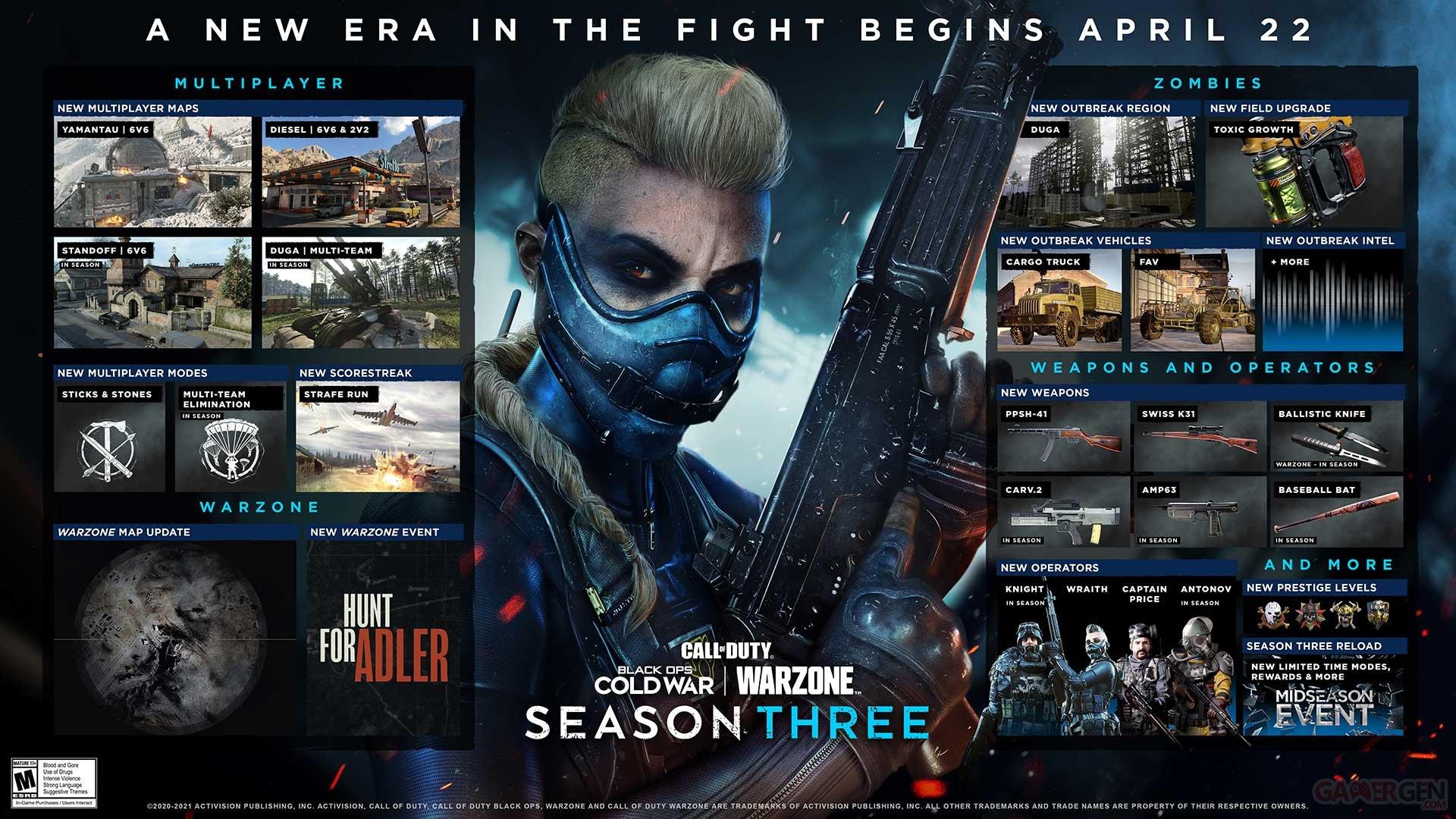Call of duty black ops cold war saison 3
