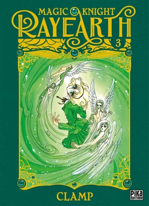 Magic Knight Rayearth tome 3