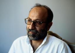 Asghar Darhadi pour son film «Un héros» présenté en Compétition au Festival de Cannes 2021, photographié à Memento à Cannes le 8 juillet 2021