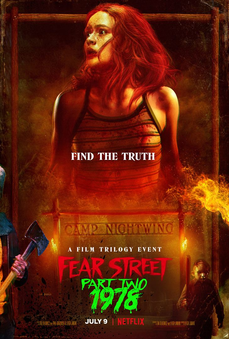 Fear street 1978 affiche 1