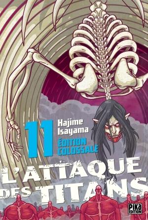 L'Attaque des Titans Edition Colossale tome 11