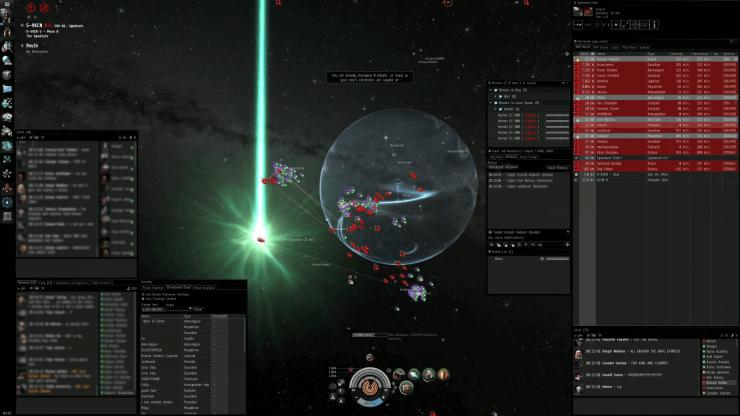 EVE-Online-Fleet-Gameplay
